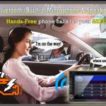 Using GPS in the car to call hands-free mobile phone